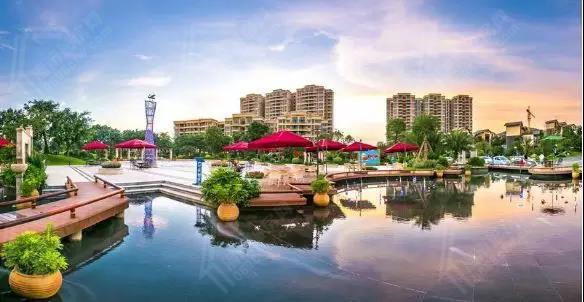 碧桂园十里繁花实景图