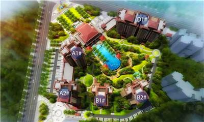 毗海澜湾户型建筑面积65-121㎡1居-3居在售