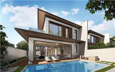 海南臻园别墅总价总价227-300万/套、一房一价!