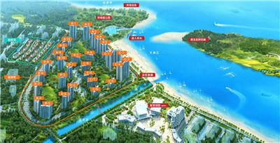 富力悦海湾预计2019年10月28日交房,联排双拼总价350-700万/套