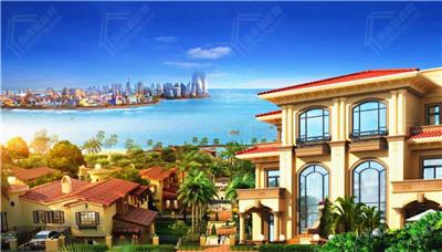 儋州海景别墅   星光绿城别墅均价27800元/㎡