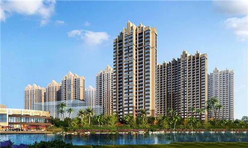 帝景湾推出一至四室房源,房价均为12000元/㎡