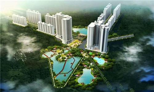 江畔锦城在售一至三室房源,房价均为8000元/㎡