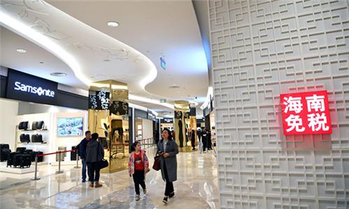 海南离岛免税购物新政实施首日,电子产品新增品类颇受欢迎