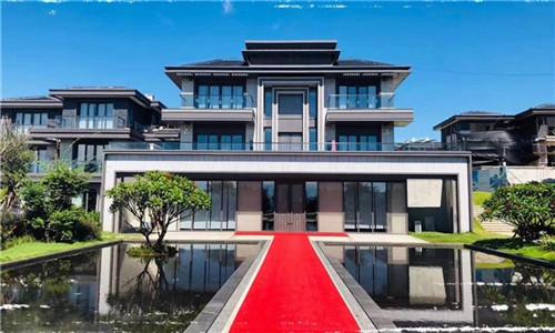 海南怡海湾多类别墅在售,新中式,一线海景
