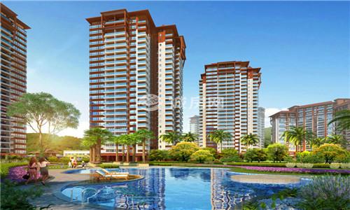 三亚悦菩提均价32500元/m²,住宅房源在售