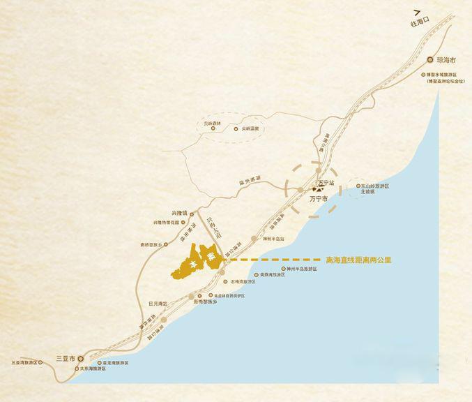 石梅山庄交通图