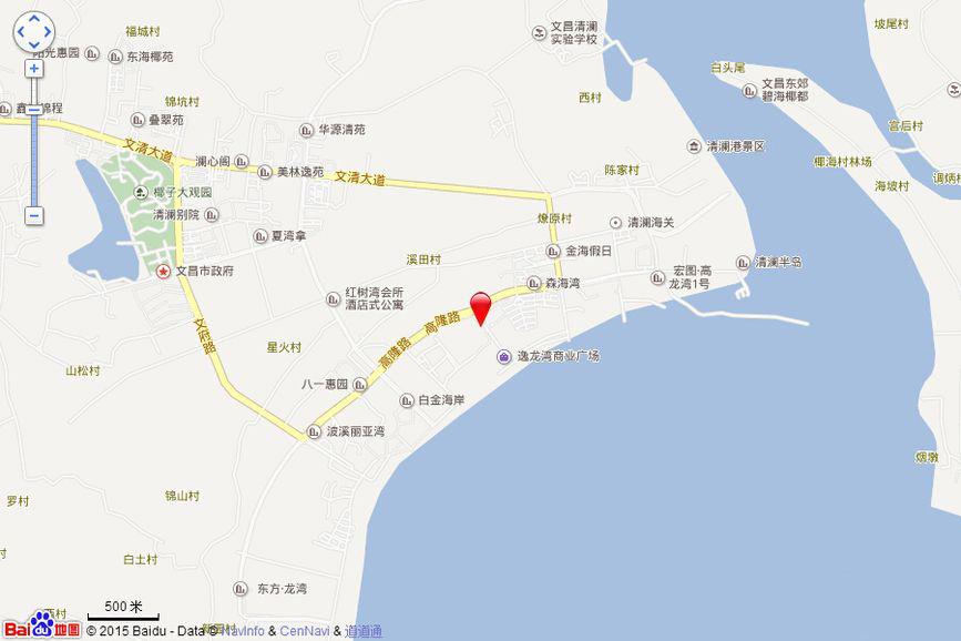 平海逸龙湾交通图